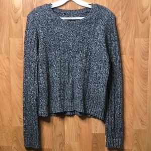 Sweaters - Gray/white thread blend Sweater